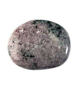Lepidoliet steen plat gepolijst