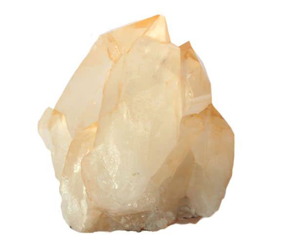Lemurisch zaad (goud) kristal cluster 13,5 x 13,5 x 9,5 cm / 1619 gram