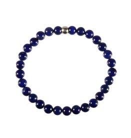 Lapis lazuli armband A-kwaliteit 18 cm | 6 mm kralen