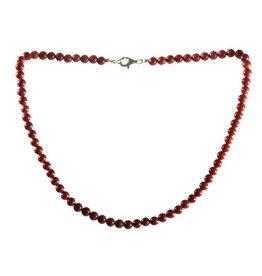 Jaspis (rood) ketting 6 mm kralen