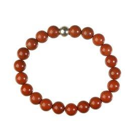 Jaspis (rood) armband 20 cm | 8 mm kralen
