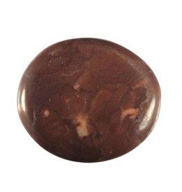 Jaspis (purper) steen plat gepolijst