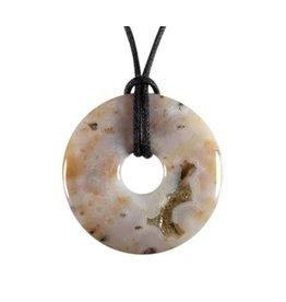 Jaspis (oceaan) hanger donut 3 cm