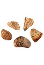 Jaspis (landschap) steen getrommeld 2 - 5 gram