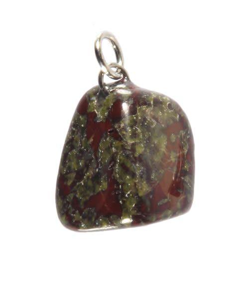 Jaspis (drakenbloed) hanger