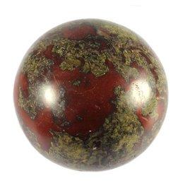 Jaspis (drakenbloed) edelsteen bol 75 mm
