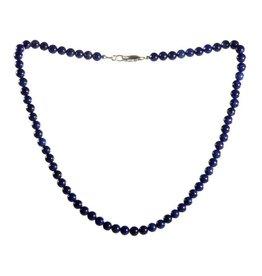 Howliet (blauw) ketting 6 mm kralen