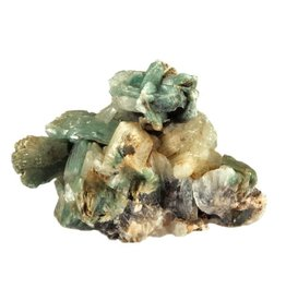 Heulandiet (groen) ruw 9 x 5 x 6,2 cm / 155 gram