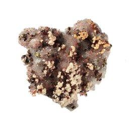 Hematiet met chalcopyriet cluster 10,5 x 10 x 4 cm / 455 gram