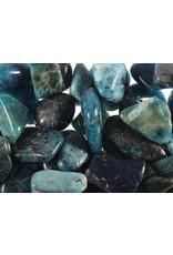 Apatiet (blauw) steen getrommeld 2 - 5 gram