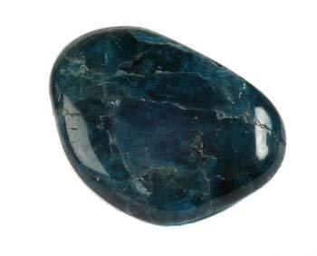 Apatiet (blauw) steen getrommeld 5 - 10 gram