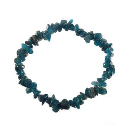 Apatiet (donkerblauw) armband split