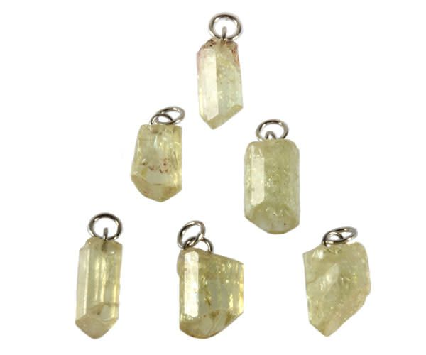 Apatiet (geel) hanger kristal