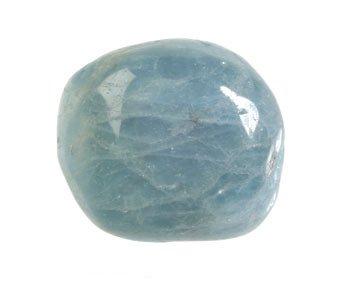 Aquamarijn (blauw) steen getrommeld 5 - 10 gram