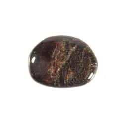 Granaat steen plat gepolijst klein