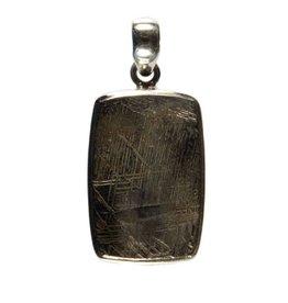 Zilveren hanger meteoriet ruw 2,5 x 1,7 cm