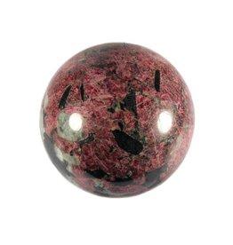 Eudialiet edelsteen bol 63 mm