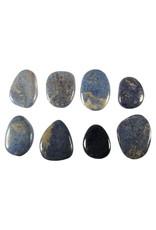 Dumortieriet steen plat gepolijst