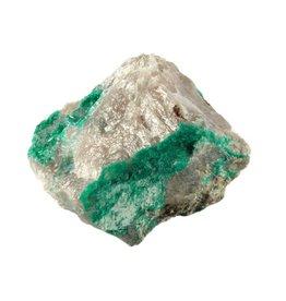 Dioptaas in matrix 6,5 x 5 x 4 cm / 116 gram