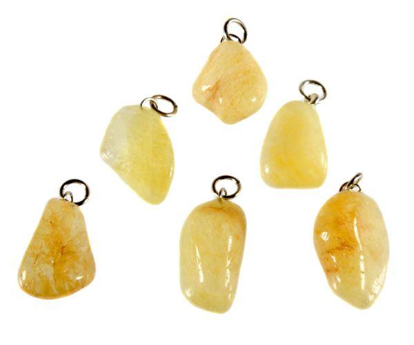 Danburiet (geel) hanger