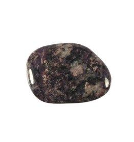 Charoiet steen plat gepolijst