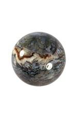 Chalcedoon edelsteen bol 75 mm