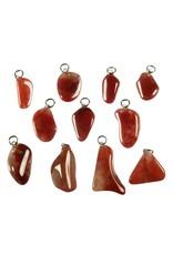 Chalcedoon (rood) hanger