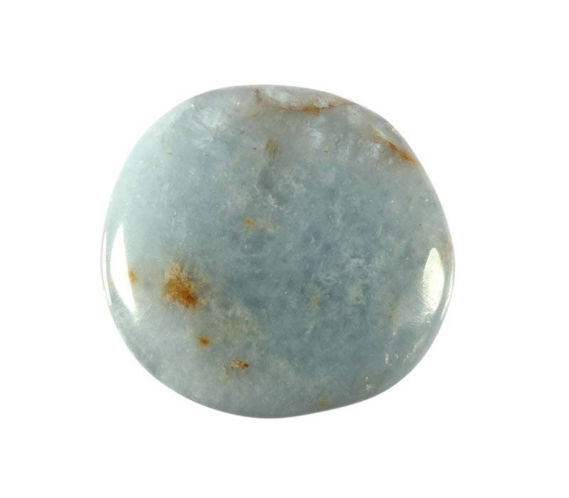 Celestien steen plat gepolijst