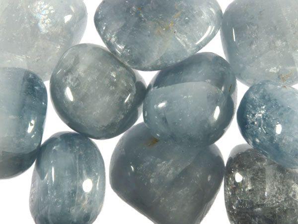 Celestien steen getrommeld 10 - 20 gram