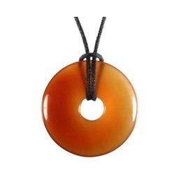 Carneool hanger donut 3 cm