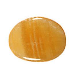 Calciet (oranje) steen plat gepolijst