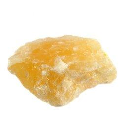 Calciet (oranje) ruw 50 - 100 gram