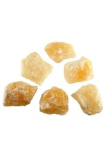 Calciet (oranje) ruw 25 - 50 gram