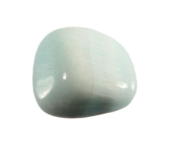 Calciet (blauw) steen getrommeld 5 - 10 gram