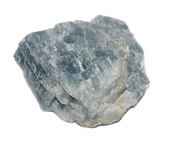 Calciet (blauw) ruw 50 - 100 gram