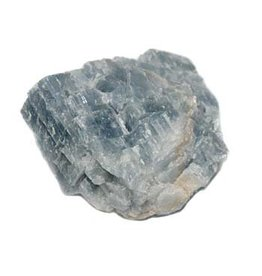 Calciet (blauw) ruw 10 - 25 gram