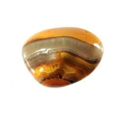 Bumble bee jaspis steen getrommeld 2 - 5 gram
