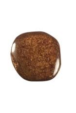 Bronziet steen