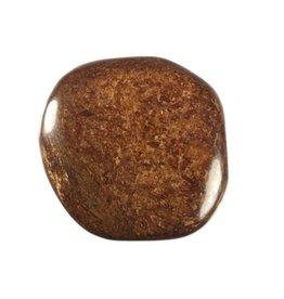 Bronziet steen plat gepolijst