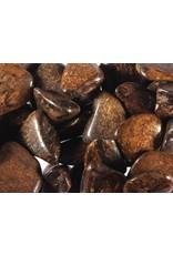 Bronziet steen getrommeld 2 - 5 gram