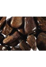 Bronziet steen getrommeld 5 - 10 gram