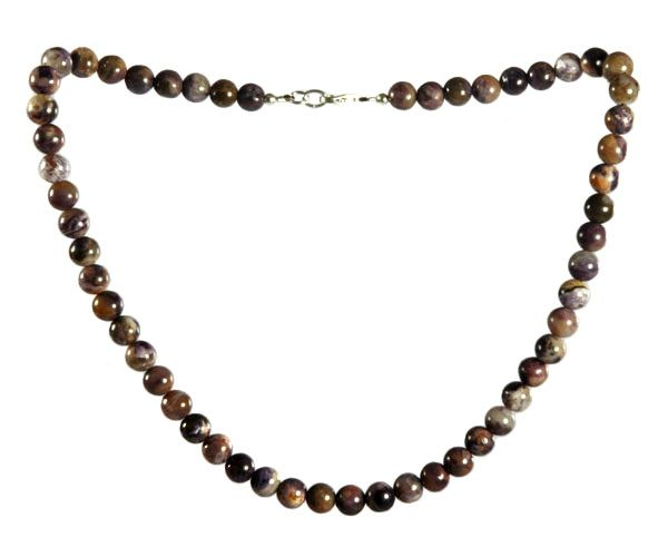 Tiffany stone ketting 8 mm kralen