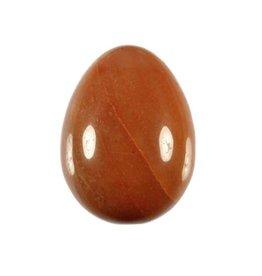 Aventurijn (oranje/rood) edelsteen ei 5 x 3,8 cm