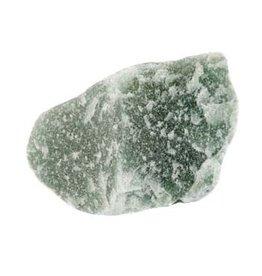 Aventurijn (groen) ruw 25 - 50 gram