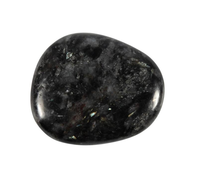 Astrofylliet steen plat gepolijst