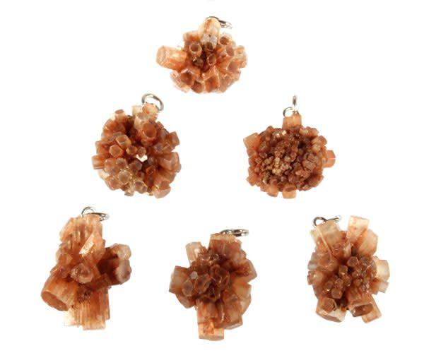 Aragoniet (bruin) hanger cluster