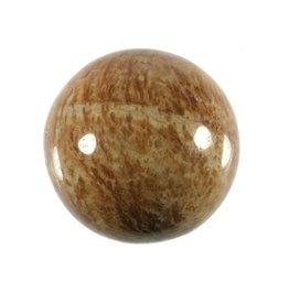 Aragoniet (bruin) edelsteen bol 40 mm