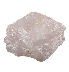 Azeztuliet (roze) ruw 11 x 9,5 x 4 cm / 521 gram