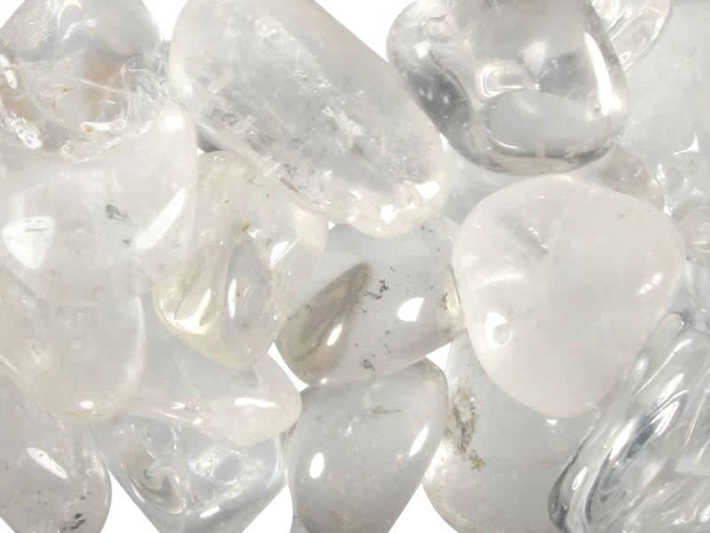 Bergkristal steen getrommeld 30 - 50 gram