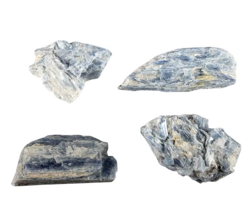 Kyaniet (blauw) ruw 10 - 25 gram